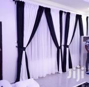 Black and White Curtains | Home Accessories for sale in Lagos State, Lagos Mainland