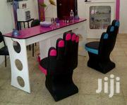 Nail Polish Chair And Table | Salon Equipment for sale in Lagos State, Lagos Island