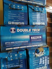 12vos 200hams Double Tech Battery | Solar Energy for sale in Lagos State, Ipaja