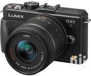 Panasonic Mirrorless Camera Lumix GX 1 With 14-42mm Lens | Photo & Video Cameras for sale in Lagos State, Ikeja
