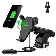 Fast Wireless Charger & Phone Holder With Air Vent Clip | Accessories for Mobile Phones & Tablets for sale in Lagos State, Ikeja