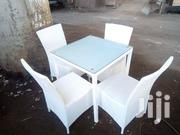 High Quality Restaurant White 4sitter   Furniture for sale in Lagos State, Lekki Phase 1