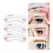 9 Pieces DIY Eye Brow Stencil   Makeup for sale in Abuja (FCT) State, Dei-Dei