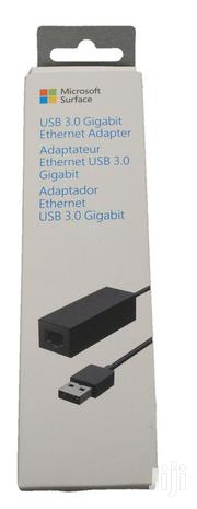Microsoft Surface USB 3.0 Gigabit Ethernet Adapter | Accessories for Mobile Phones & Tablets for sale in Lagos State, Ikeja