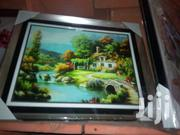 Wall Frame Green Garden | Arts & Crafts for sale in Lagos State, Surulere