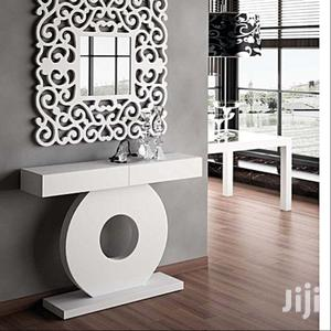 Luxur Afrique Mirror and Console - White