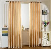 Generic 2pcs 100x250cm Pure Color Grommet Window Curtain - Green | Home Accessories for sale in Lagos State, Lekki Phase 1
