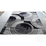 Generic Grey And Black Area Rug - 5x7ft   Home Accessories for sale in Imo State, Owerri