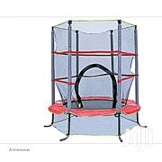 "Airzone 55"" Bounce and Learn Interactive Game Trampoline-Red 