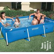Intex 8ft Metal Prism Frame Rectangle Swimming Pool Set | Sports Equipment for sale in Abuja (FCT) State, Central Business District