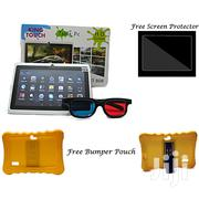 King Touch Smart Kid's Android 6.0 Tablet + Screen Protector   Toys for sale in Rivers State, Port-Harcourt