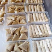 Raw Fresh Samosas & Spring Rolls (100pieces) + Free Gift | Meals & Drinks for sale in Lagos State, Victoria Island