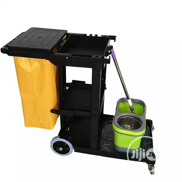 Archive: Superior Plastic Collection Commercial Cleaning Trolley