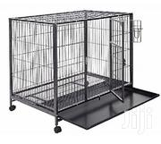 Generic Heavy Duty Metal Cage-small | Pet's Accessories for sale in Lagos State, Lagos Mainland