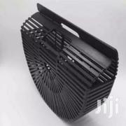 Big Bamboo Basket Ark Clutch Purse - Black | Bags for sale in Lagos State, Surulere