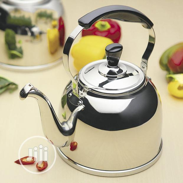 Archive: Stainless Steel Kettle 6litets