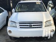 Toyota Highlander 2004 Limited V6 4x4 White | Cars for sale in Lagos State, Surulere