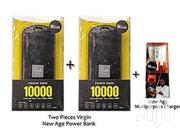 New Age 10000mah Power Bank - 2pieces Plus One Free Charger | Accessories for Mobile Phones & Tablets for sale in Lagos State, Mushin
