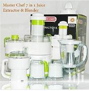 Master Chef Juice Extractor And Blender 7-in-1 Combo | Kitchen Appliances for sale in Lagos State, Mushin