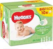 Huggies Natural Care Wipes 10x56 | Baby & Child Care for sale in Lagos State, Ajah