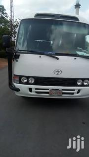 Toyota Coaster Bus 2012 For Hire | Chauffeur & Airport transfer Services for sale in Lagos State, Ikeja