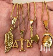 Exclusive Non Tarnished Nor Fade Neck Chain And Pendant | Jewelry for sale in Lagos State, Lagos Island