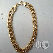 Pure 18krt Gold Bracelet Cuban Design | Jewelry for sale in Lagos State, Lagos Island