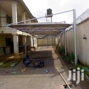 Carport Withsolid Steel Structural Work And Quality Mesh Cover. | Building Materials for sale in Lagos State, Alimosho