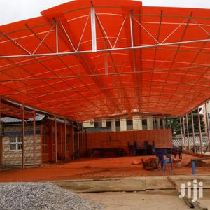 High Roof Steel Structural Steel Metal Pipe Roofed With Danpolon