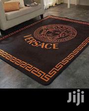 Versace Luxury Centre Rug - Black/Orange | Home Accessories for sale in Lagos State, Ikeja