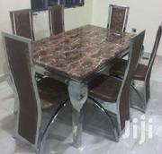 New Design Marble Dinning Set Used Across All Homes | Furniture for sale in Ogun State, Sagamu