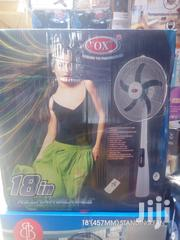 OX Rechargable Fan 18"