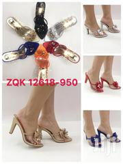 Transparent Block Heel Slipper for Ladies Available in Different Size | Shoes for sale in Lagos State, Ikoyi