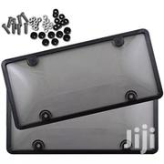 Licence Plate Cover Grey | Vehicle Parts & Accessories for sale in Lagos State, Ifako-Ijaiye