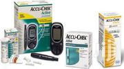Accu-Chek Active Blood Sugar Monitor + 60 Test Strips + 200 Lancet | Tools & Accessories for sale in Lagos State, Ikeja