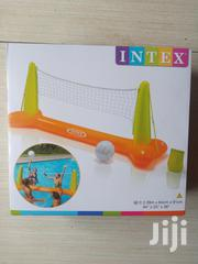 Kids Play Volleyball Intex Inflatable Post And Net | Sports Equipment for sale in Lagos State, Surulere