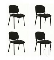 Emel 4 Pcs - Visitor/Conference Office Chair - Black   Furniture for sale in Rivers State, Eleme