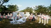 All White And Baby Pink Garden Decor | Wedding Venues & Services for sale in Lagos State, Lekki Phase 1
