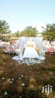 All White Walk Way Entrance Decor | Wedding Venues & Services for sale in Lagos State, Surulere