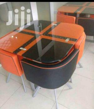 Restaurant Dining Table With 4 Chairs