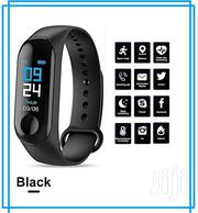 M3 Smart Fitness Bracelet Watch With Heart Rate Monitor   Smart Watches & Trackers for sale in Lagos State, Ikeja