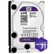WD Purple 6TB Surveillance Hard Disk Drive | Computer Hardware for sale in Lagos State, Ikeja