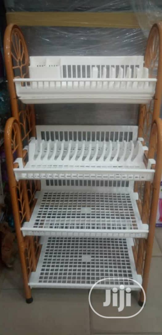 Archive: THAILAND Colosseum 5 Tier Shelf W/Dish Rack+Tray