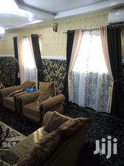 Cream an Brown Curtains | Home Accessories for sale in Lagos State, Alimosho