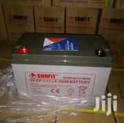 SUNFIT 12V 100AH Deep Cycle Inverter Battery | Electrical Equipment for sale in Lagos State, Ikeja