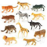 12pcs Children Assorted Plastic Toy Wild Animals | Toys for sale in Lagos State