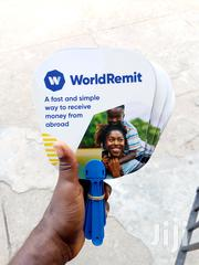 Promote Your Business, Use Customize Handfan | Manufacturing Services for sale in Lagos State, Ikeja