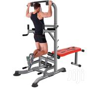 Commercial Power Tower With Flat Bench | Sports Equipment for sale in Lagos State, Surulere