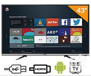 Haier Thermocool 43-inch Android Smart FHD Digital LED TV K6500 | TV & DVD Equipment for sale in Imo State, Owerri West