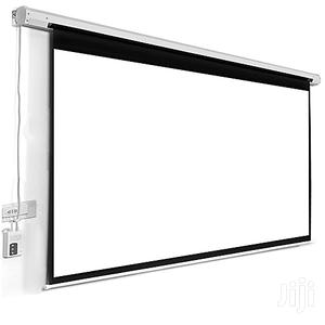 Automatic Projector Screen 72 X 72 Inches